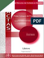Actas - Estudio del dicurso de cortesía en español.pdf