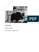 Harold Pinter - TRAICIÓN