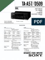 Sony+TA-A57+D509