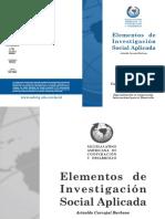 Elementos de Investigacion Social Aplicada Carvajal Burbano.pdf