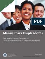 M 274 Handbook for Employers Spanish
