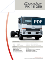 UD Trucks Condor PK 16 250