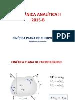 4-CINETICA PLANA Cuerpo Rigido 2015B-Ejercicios