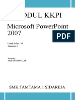 Ms Powerpoint 20071