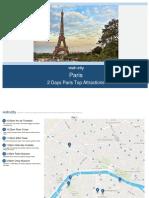 2 Days Paris Top Attractions