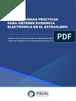 Guía de Buenas Prácticas Para Obtener Evidencia Electrónica en El Extranjero
