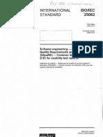 CSE-E5699_not_E5810_ISO-IEC_25062