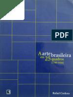 CARDOSO, Rafael - 25 Quadros Rafael Cardoso Anita Malfatti
