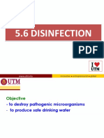5.6 Disinfection