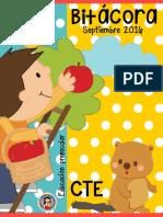 Bitácora CTE Preescolar Septiembre 2016