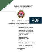 Costos de Perforacion Convencional Mecanizada