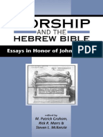 WORSHIP AND THE HEBREW BIBLE.pdf