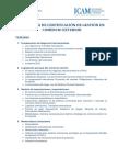 Temario Programa de Certificacion de Gestion en Comercio Exterior