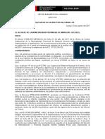 RA N°000-2017-MPMC_APROBACION DE COMPRAS MENORES A 8UIT