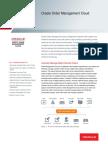 Oracle Order Management Cloud Ds