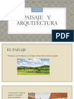 Paisaje y Arquitectura