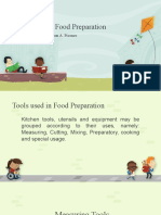Tools Used in Food Preparation