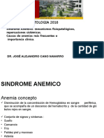 SINDROME ANEMICO 2016.pptx
