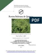 Revista Boliviana de Química