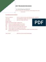 Surat Perjanjian Kerjasama_template Event Planner