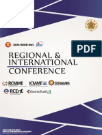 Proposal Regional Conference
