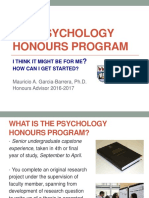 UVic PSYC Honours Info 2013 POST
