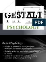 Gestalt Psychology ppt prepared by