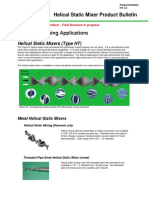 PDF-12.0) Helical Static Mixer Technical Bulletin