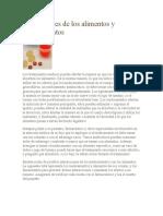 Interacciones de Los Alimentos y Medicamentos