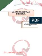 Presentasi Direktur RS TIM PPI