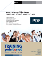 Overcoming Objections- Worksheet