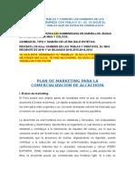 Plan de Marketing Para La Comercializacion de Alcachofa