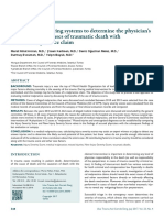 Score Para Determinar Resp Medica