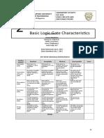 Exp2- Logic Gates Characteristics-2017