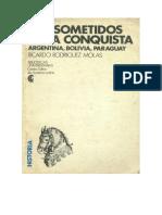 Rodrguez Molas Ricardo - Los Sometidos de La Conquista
