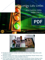 Presentasi - Miniatur Lampu Lalu Lintas - Arya Gamma Aditia
