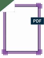 Purple Weave Border