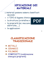 classificazionemateriali