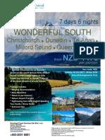 NZ - Wonderful South