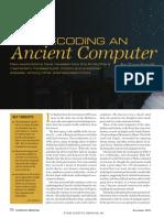 Antikythtera_Mechanism - Scientific American 2009