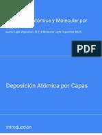 Deposición Atómica Por Capas