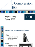 Video Compression MPEG