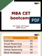 CET Bootcamp Welingkar