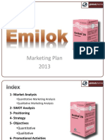 Emilok Marketing Plan 2017