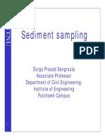 Suspended Sediment Sampling