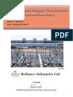 Reliance Met. Report