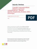 Przeglad Historyczny r2004 t95 n2 s269 272