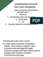 11.Diteksi Komplikasidan Penyulit Kala II Dan Cara Mengatasi