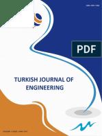 TURKISH JOURNAL OF ENGINEERING   Volume 1 Issue 1