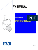 Stylus C87 C88 D88 Service Manual